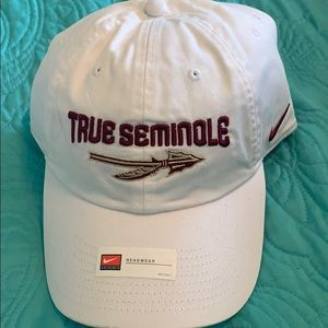 Nike Florida State True Seminole white hat